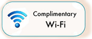 Complimentary Wi-Fi
